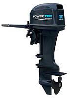 Двухтактный лодочный мотор Powertec PP  40 AERTL - Powertec PP40AERTS