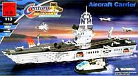 """Конструктор BRICK 208886/113 """"Военный корабль Авианосец""""  (900 дет.)"""