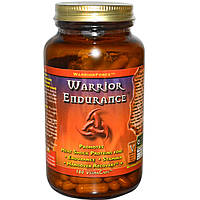 Warrior Force Nutritionals, Warrior Endurance, 180 Vegan Caps