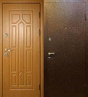 Авангард-С2 (молотковая покраска 1,5мм + МДФ + 2 замка). Входные металлические двери