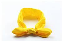 Повязка на голову для девочки солоха Детская  Жёлтый