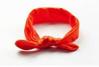 Повязка на голову для девочки солоха Детская  Оранжевый