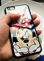 Cиликоновый Чехол с Минни Маусом iphone 5/5S/5SE , фото 1