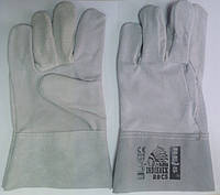 Перчатки рабочие Краги короткие без подкладки