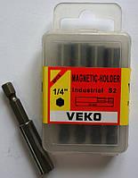 Держатель для бит магнитный VEKO (5 шт. в упаковке)