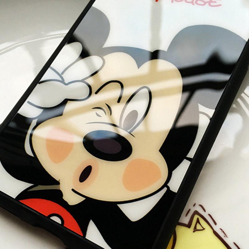 Cиликоновый Чехол с Микки Маусом iphone 6/6S