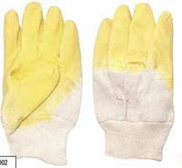 Перчатки стекольщика Грипп с латексным покрытием