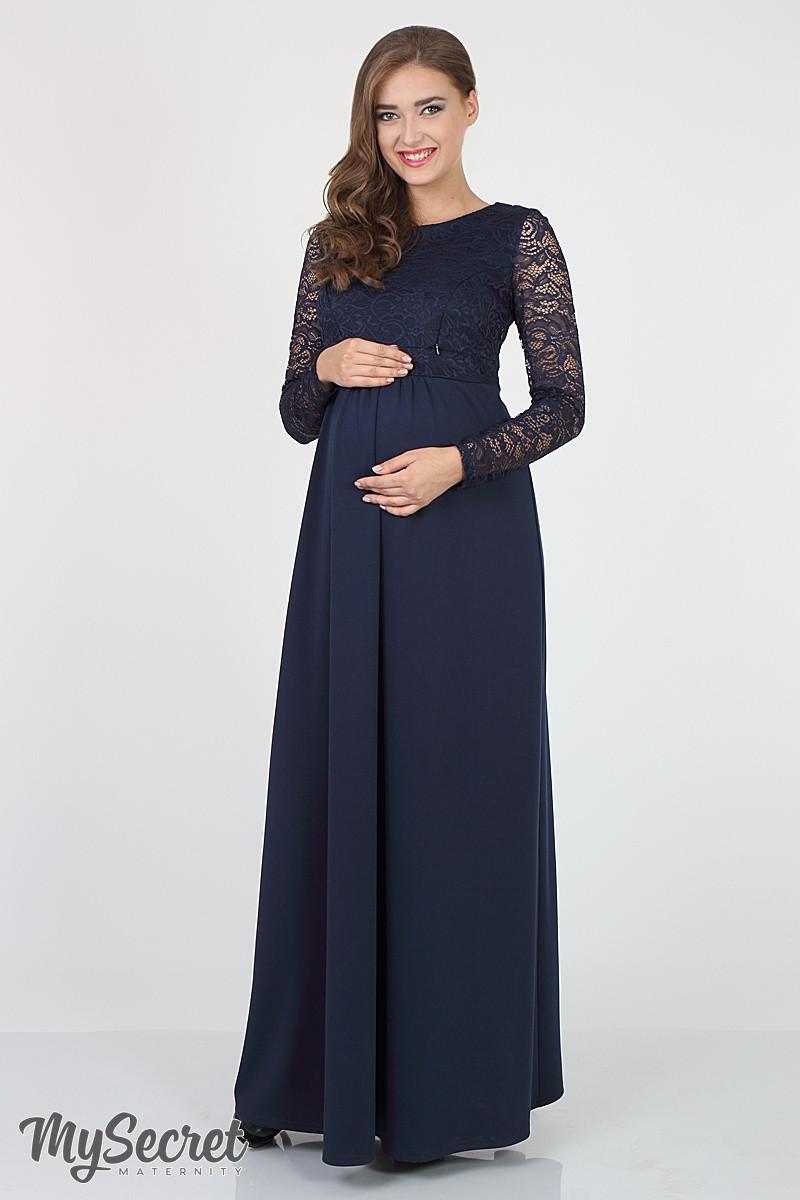8e55fded5ac0 Длинное платье для беременных и кормящих мам Elians  продажа, цена в ...