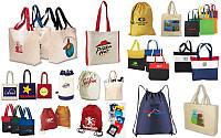 Эко сумки, промо сумки для покупок, рюкзаки с логотипом