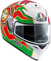 Мотошлем AGV K-3 SV Top Imola красный белый зеленый, L