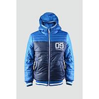 Куртка 163-82B-12-450 Синяя