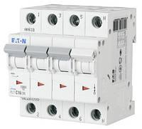 Автоматичний вимикач 3+N-полюс. PL7-C6/3N EATON, фото 1