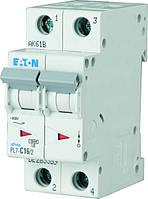 Автоматичний вимикач 2-полюс. PL7-C63/2 EATON, фото 1
