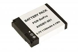Аккумулятор GoPro AHDBT-001 Гарантия 1 год