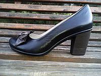 Туфли женские кожаные 38 р, фото 1