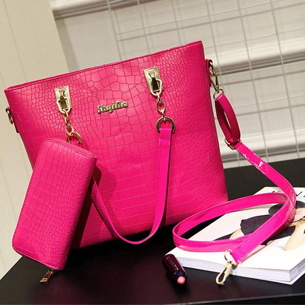 Стильная кожаная женская сумка. Модель 04302