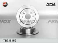 Диск тормозной задний Chevrolet Lacetti-(96549630), Nubira (1шт.) TB218165  (Fenox)