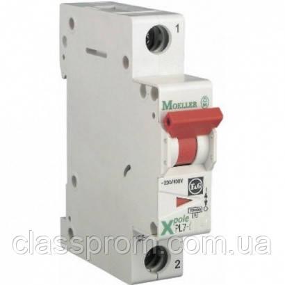 Автоматический выключатель 1-полюс. PL7-D13/1 EATON