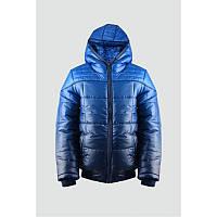 Куртка 163-82B-13-486 Синяя
