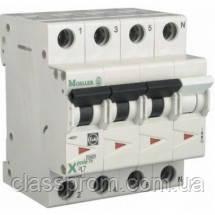 Автоматичний вимикач 3+N-полюс. PL7-D25/3N EATON