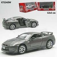 Машина металл KINSMART KT5340W 2009 Nissan GT-R R3 в кор. 16-8,5-7,5см