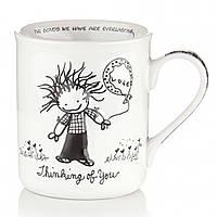 Чашка Думаю о тебе,подарочные кружки