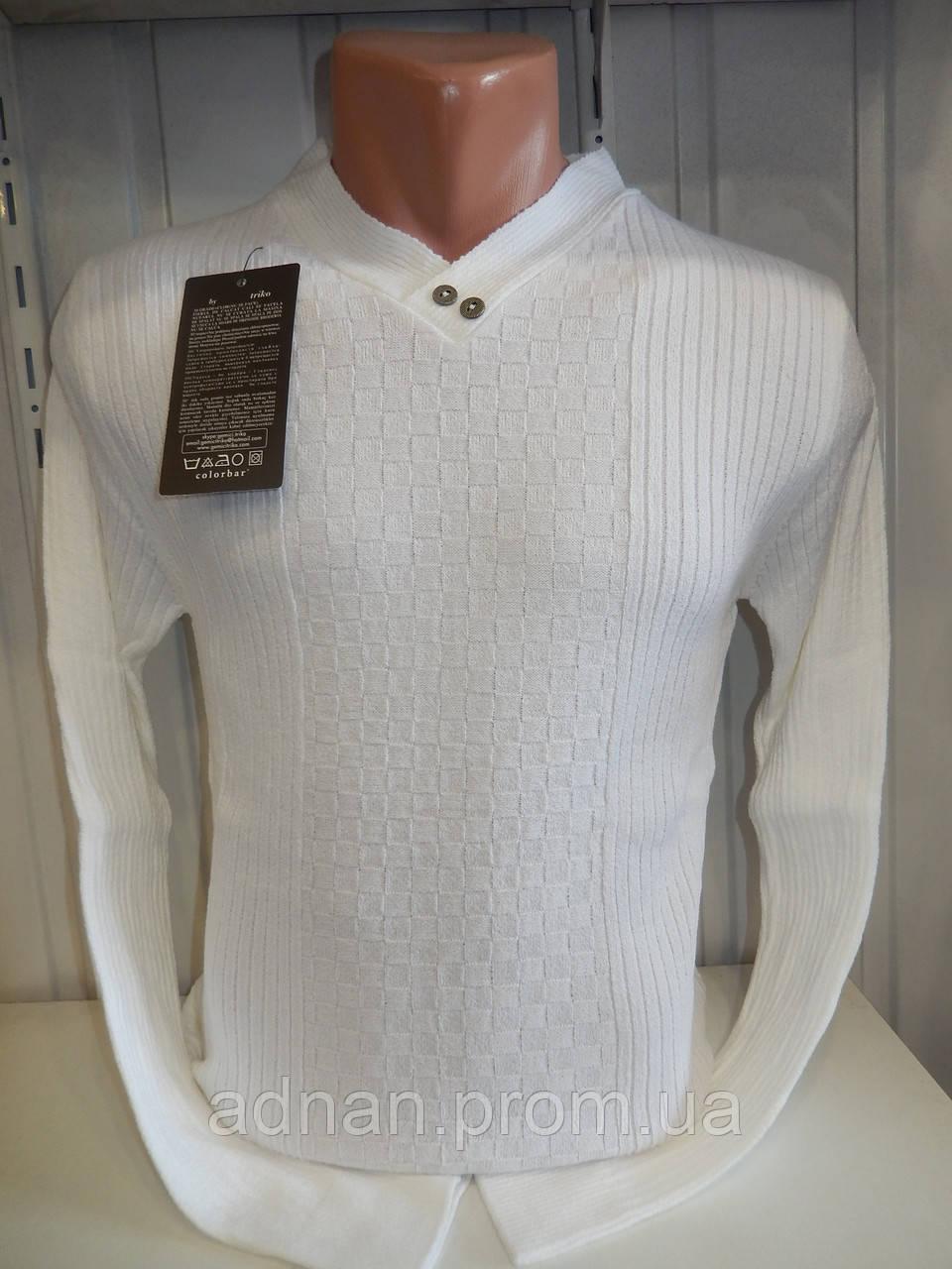 Светр чоловічий COLORBAR, візерунок на фото 004/ купиь светр чоловічий оптом