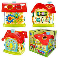 Развивающая игрушка-сортер Limo Toy Чудо-домик M0001U/R