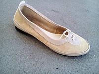 Балетки туфли женские замшевые 35 - 41 р, фото 1