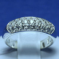 Срібне кільце Шайба 4704-р, фото 1