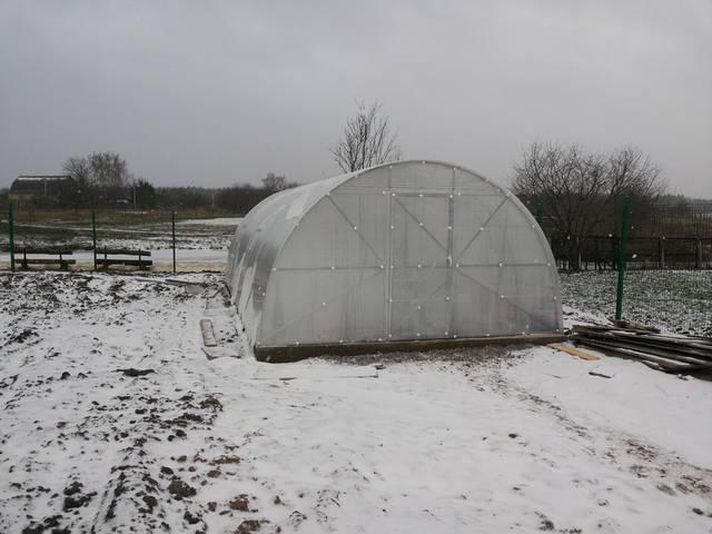 теплица для выращивания зимой заказать в украине