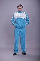 Спортивный костюм MONTANA бело-голубой