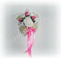 Бутоньерка 037, розовая