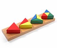 Дроби маленькие 3 (треугольник), МДИ