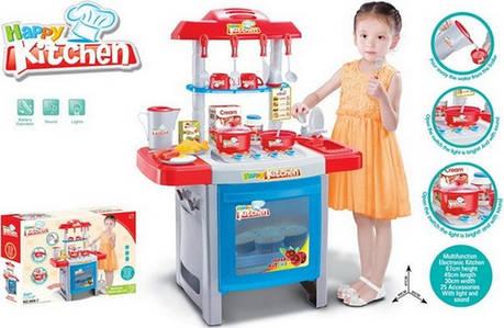 """Детская кухня 889-7 """"Happy Kitchen"""" звук,свет., 25 предметов, фото 2"""