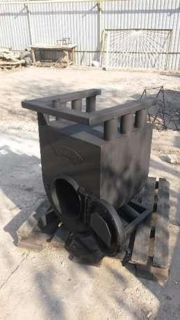 Печь Аква Буллерьян с варочной поверхностью Buller тип 05