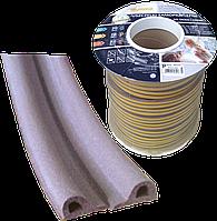 Ущільнювач -P-профіль 9*5,5мм (коричневий)