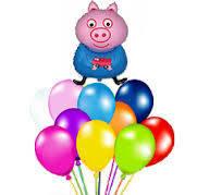 Оформление праздника Свинка пеппа peppa pig