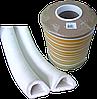Ущільнювач -D-профіль 12*10мм (білий)
