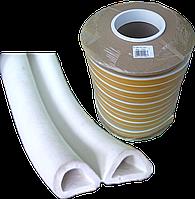 Ущільнювач -D-профіль 14*12мм (білий)