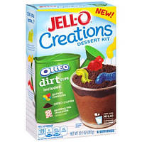 Jell-O Creations Oreo Dirt Cups