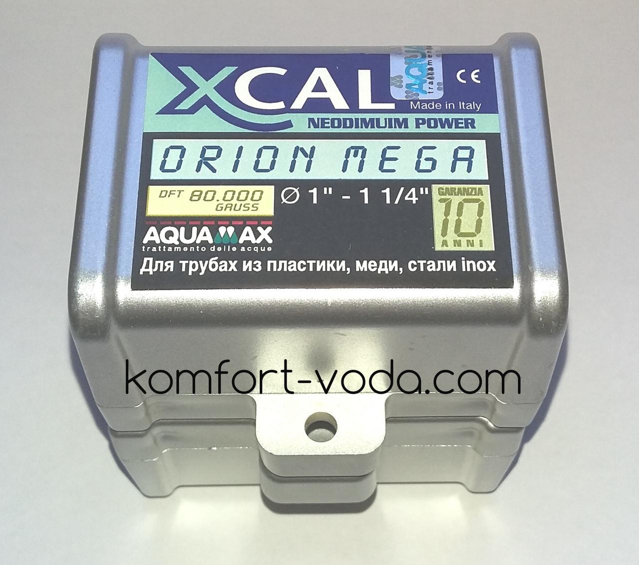 """Магнитный преобразователь воды XCAL ORION MEGA 1""""-1.25"""", 80.000 Gauss"""