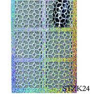 Трафареты для маникюра на липкой основе STZ-K24