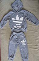 Детский велюровый спортивный костюм