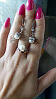 Гарнитур серебряный Адам 17,5р, фото 1