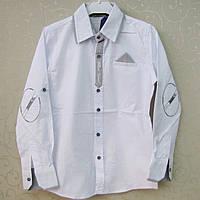 """Рубашка """"Blueland"""" для ПОДРОСТКА 128-164 см,Турция. Рубашки детские,  модные рубашки для мальчиков."""