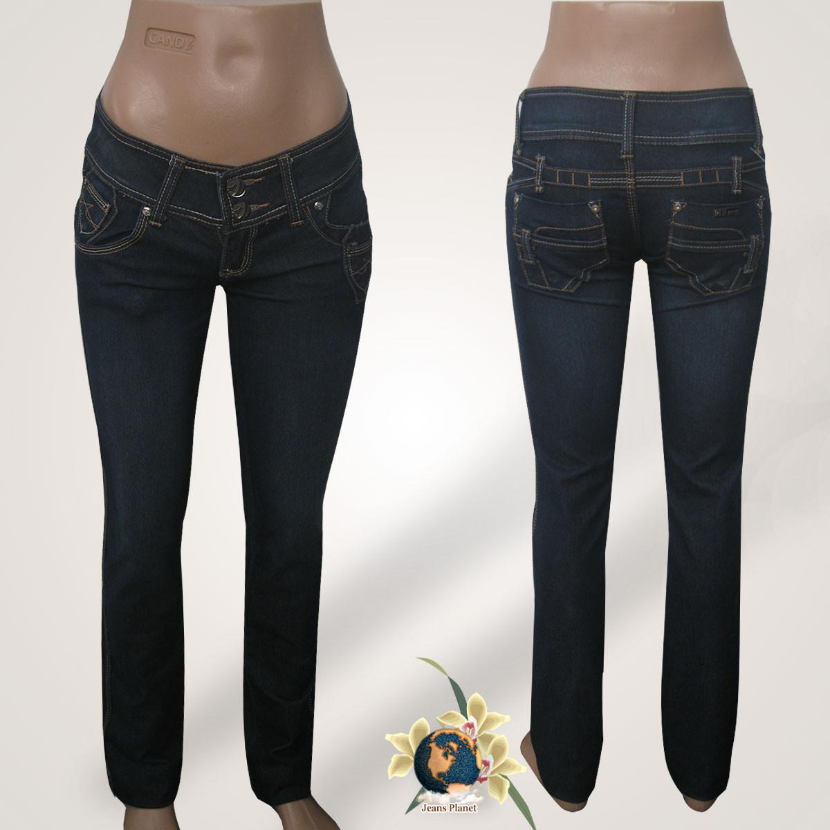 Завужені джинси жіночі сині 26 р-р