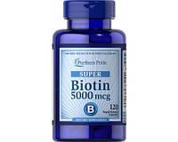 Биотин Biotin 5000 mcg (60 caps)