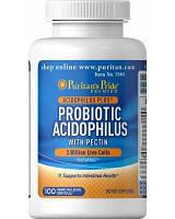Пробиотик ацидофилусовая смесь с пектином Probiotic Acidophilus with Pectin (100 caps) EXP 06|17