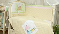 Детский сменный комплект в кроватку Клубничка